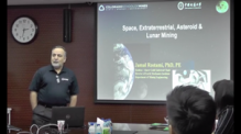 Jamal Rostami:Space Mining & Estimation of Rock Strength from Roof Bolt Drilling